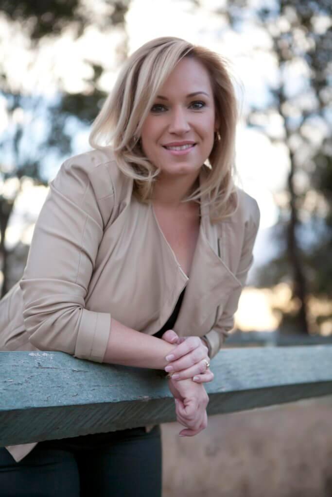 Julie McKenzie outdoors
